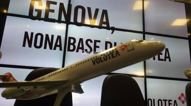 Base Volotea a Genova