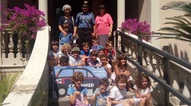 bambini carabinieri santa margherita