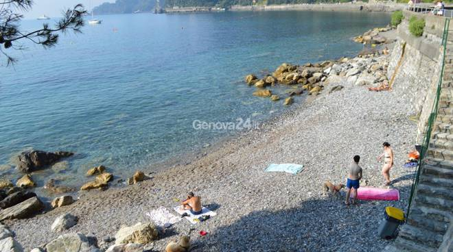 Bau Bau beach a Santa Margherita