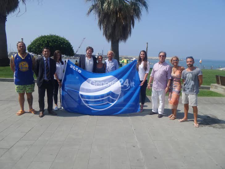 Consegna delle Bandiere Blu a Chiavari