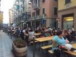 Festa del Civ in via della Libertà (foto dalla pagina del Civ-Civediamo a Rapallo)