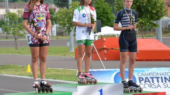 Giorgia Valanzano pattinaggio velocità