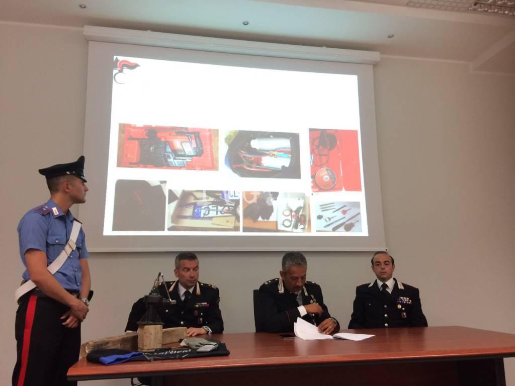 """I carabinieri portano a termine l'operazione """"Mangia e Bevi"""""""