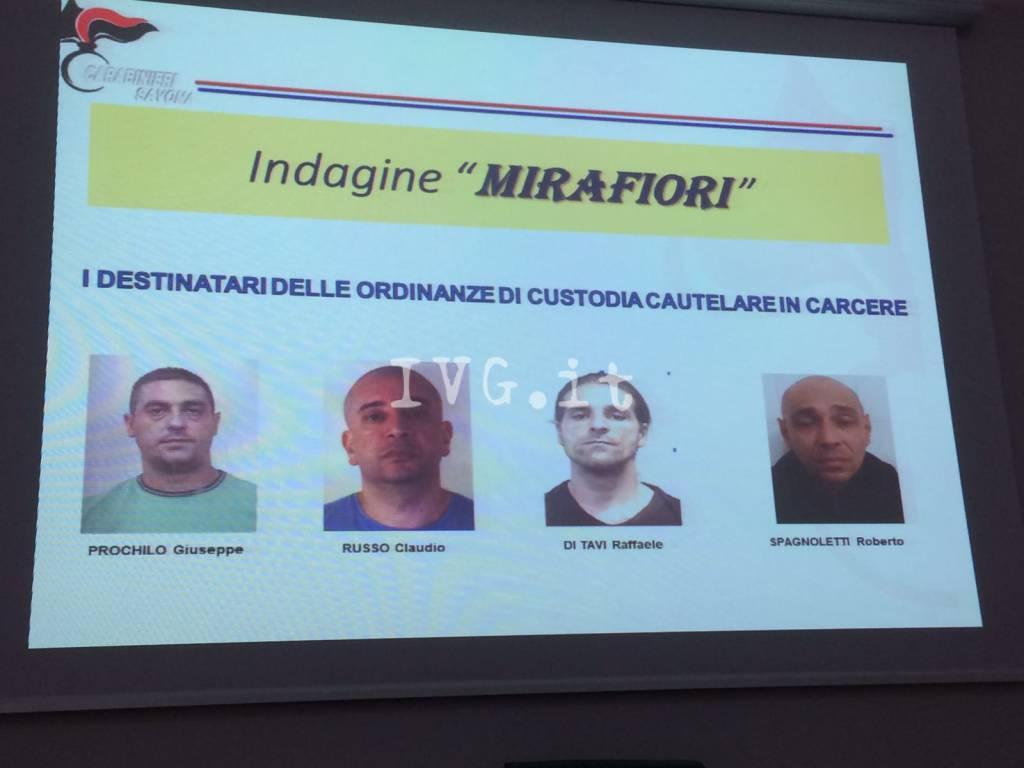 Indagine Mirafiori, banda di rapinatori sgominata dai carabinieri
