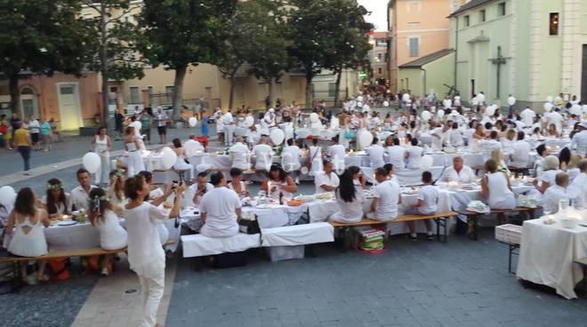 La cena in bianco di Loano