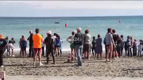 Nuota e corri sulla Riviera del Beigua
