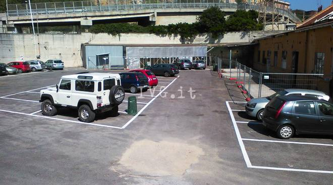 parcheggio piaggio