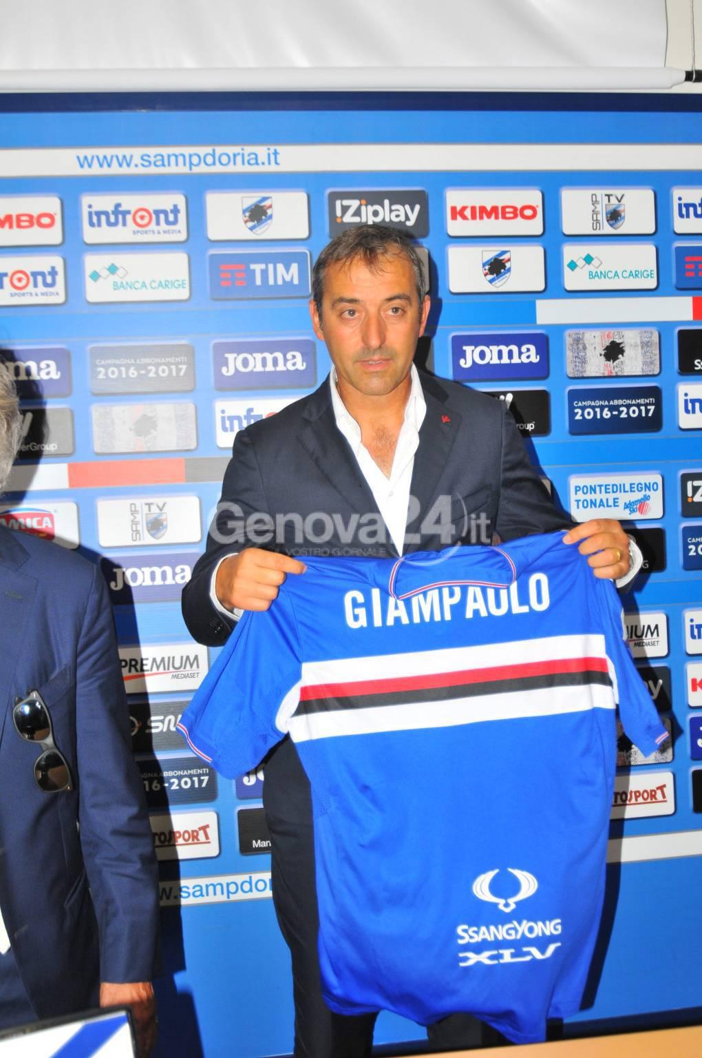 Presentazione Marco Giampaolo