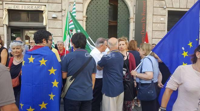 Solidarietà al popolo turco: presidio a Genova