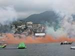 Sparata del Panegirico 2016 a Rapallo