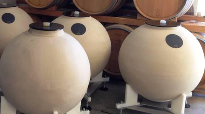 vinificazione ceramica