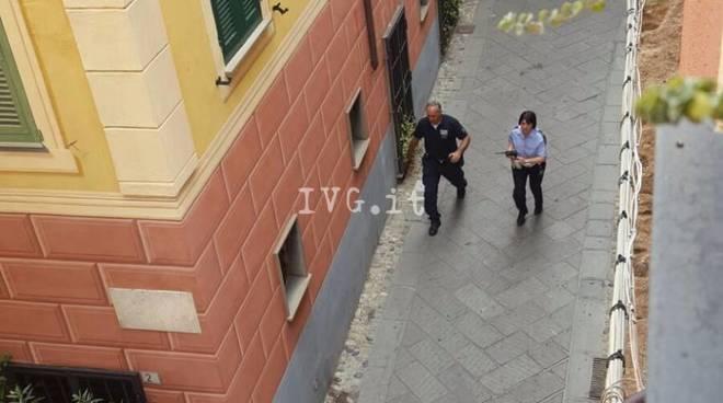 Caccia alla uomo ad Albenga