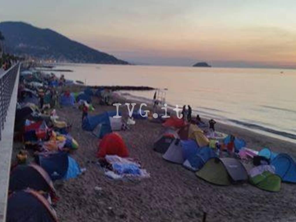 Tende Spiaggia Alassio
