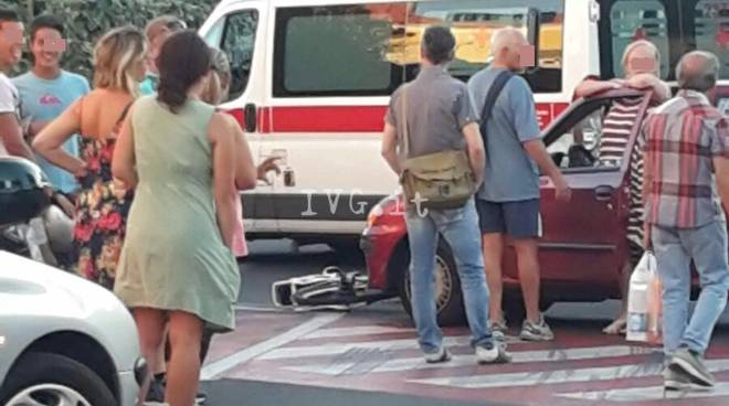 Loano Incidente Via Dante