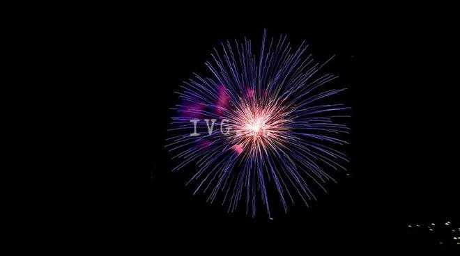 fuochi d'artificio alassio