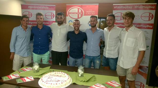 Genova Calcio, presentazione annata 2016/17