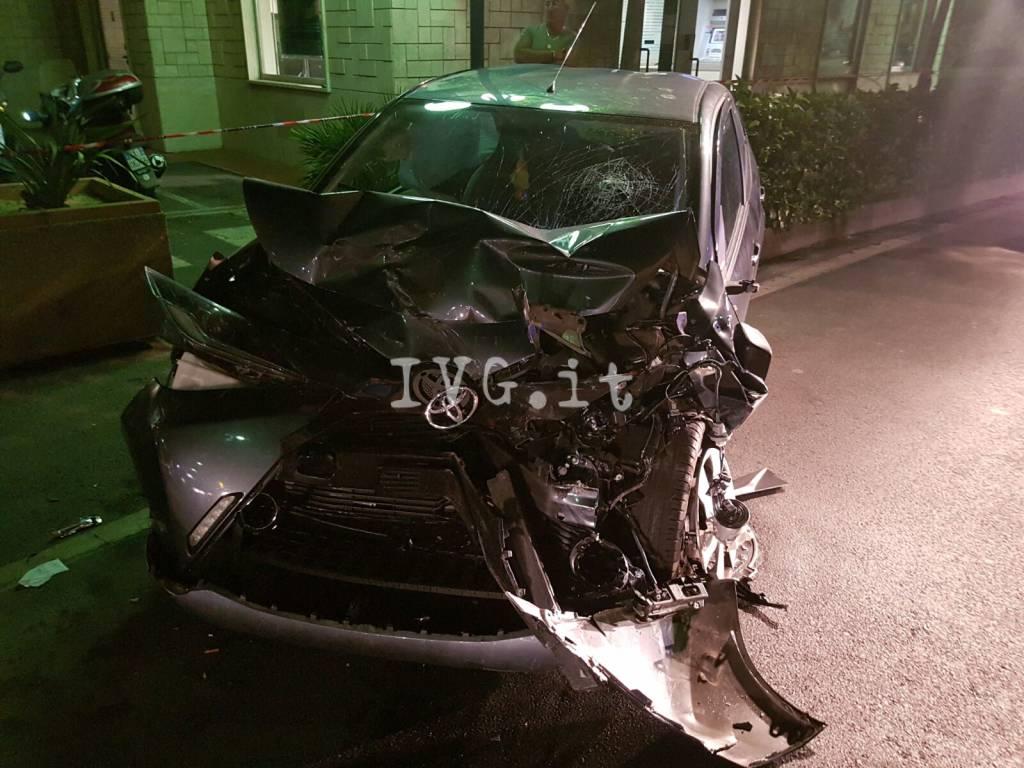 Grave incidente stradale sull'Aurelia a Borghetto