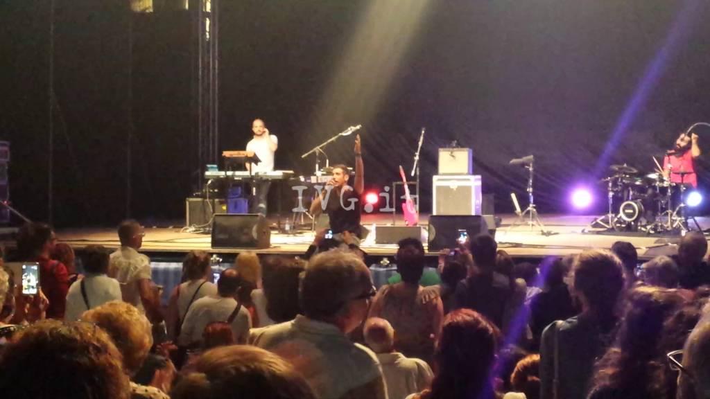 Il concerto di Francesco Gabbani a Loano