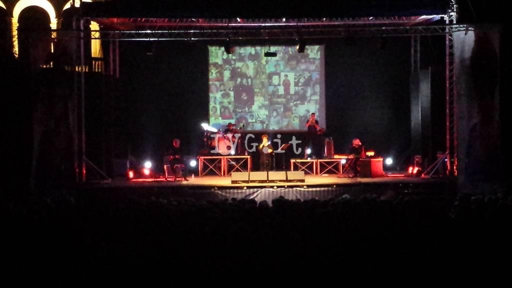 Il concerto di Orietta Berti al Giardino del Principe di Loano
