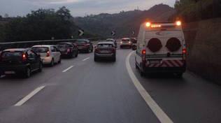 incidente autostrada a6 colonna coda