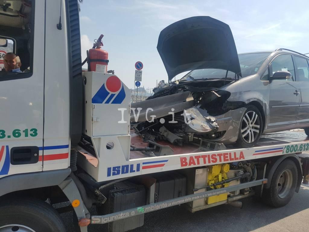 Incidente stradale a Varigotti