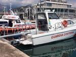 L'ammiraglio Pettorino in vista alla capitaneria di porto di Loano