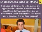 La Clericalata della settimana a Carlo Bagnasco