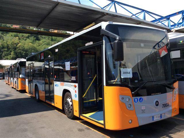 nuovi bus amt