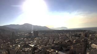 Panorama del levante di Genova