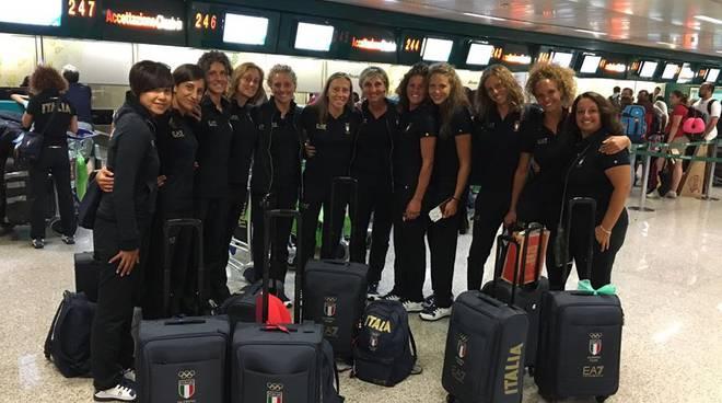 partenza sincro per Rio