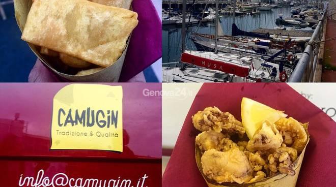 Posidonia Festival, bio street food