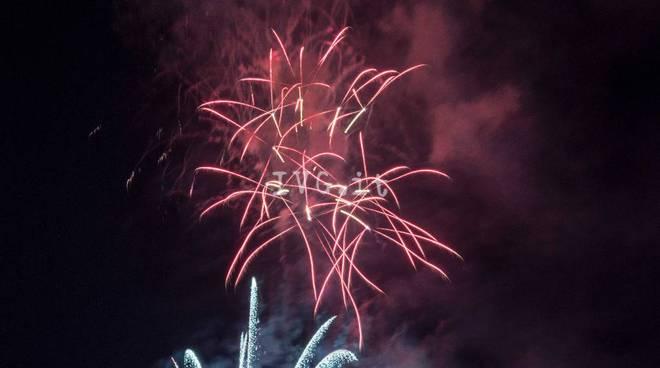 Savona, lo spettacolo pirotecnico del 30 luglio