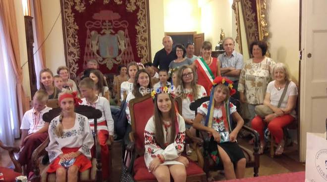 Sestri Levante accoglie i bambini di Chernobyl