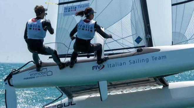 Silvia Sicouri e Vittorio Bissaro