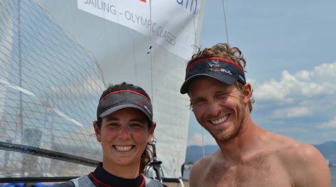 Silvia Sicouri e Vittorio Bissaro.