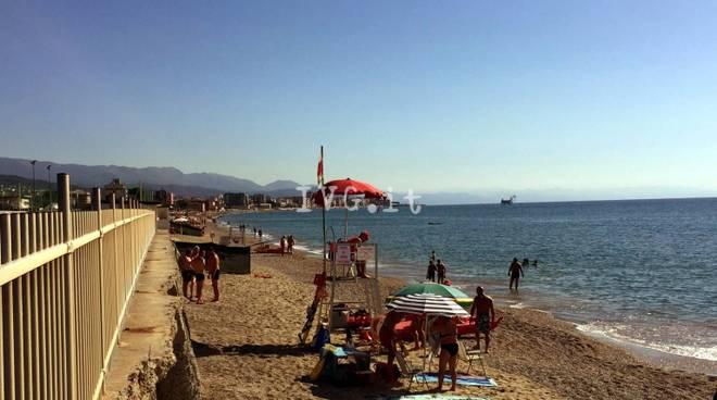 Croce Rossa Spiaggia Libera Zinola Savona