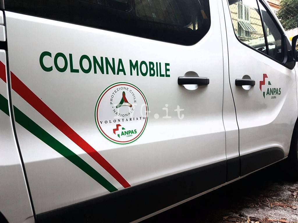 Terremoto Centro Italia Colonna Mobile Anpas Protezione Civile