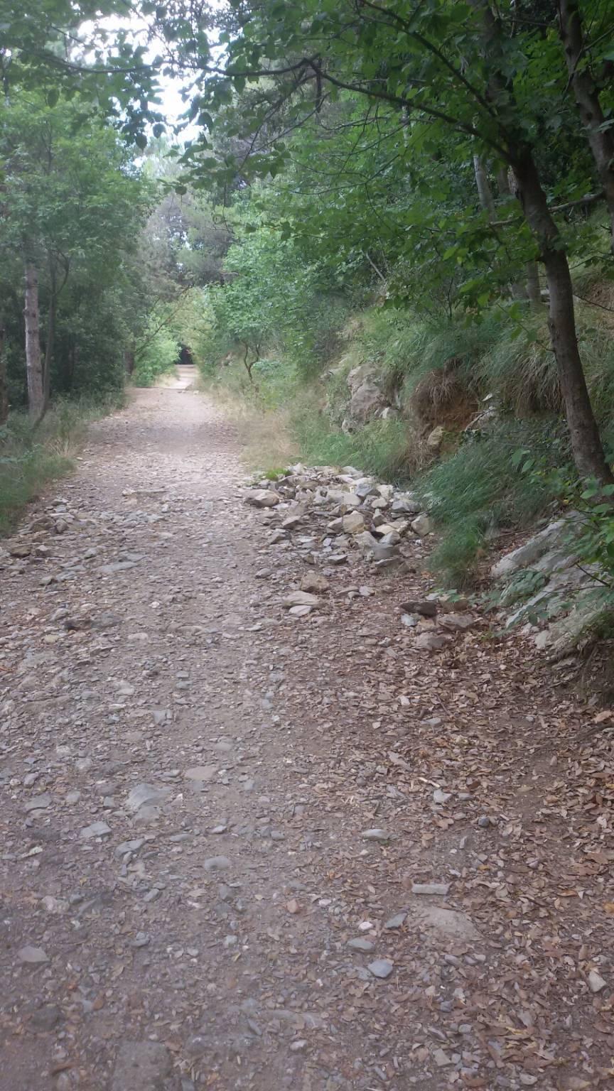 vecchio percorso ginnico peralto