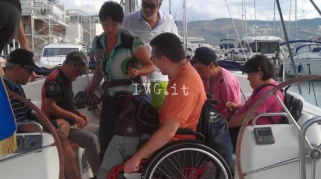 vela disabili