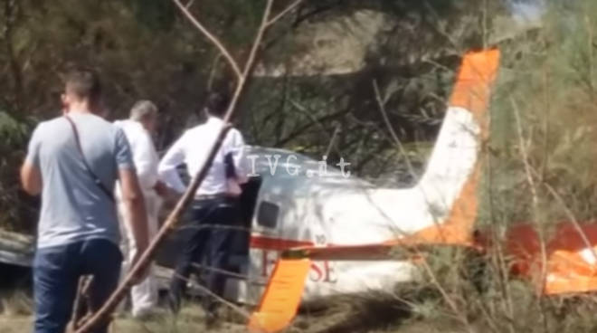 aereo caduto in albania