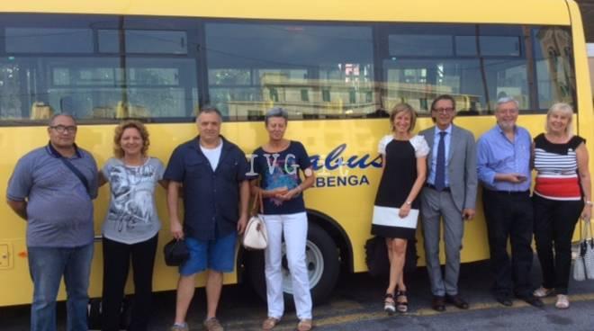 Albenga, dal Comune un nuovo bus per le scuole di via degli Orti