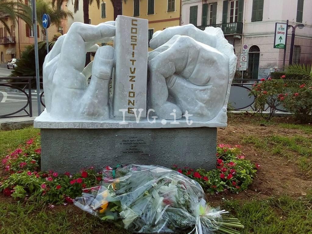 Borghetto, inaugurato il monumento alla Resistenza