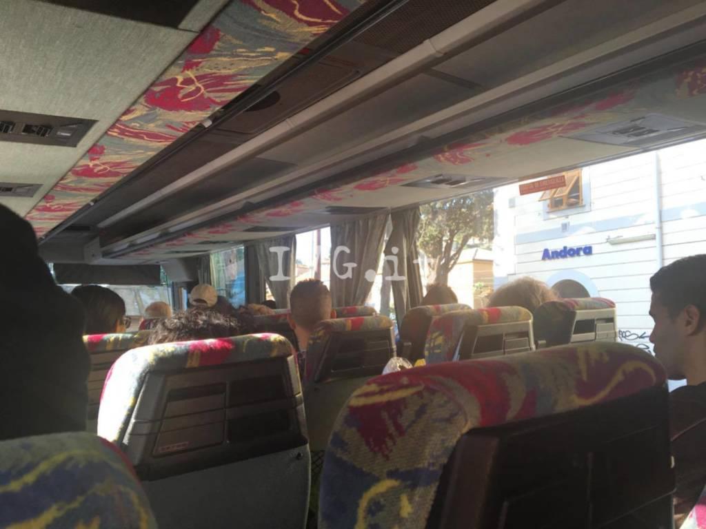 bus sostitutivo treno