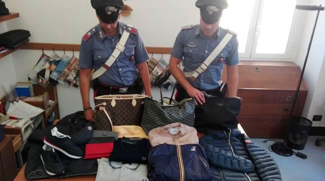 carabinieri santa margherita contraffazione