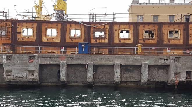 Concordia demolizione bacino 4