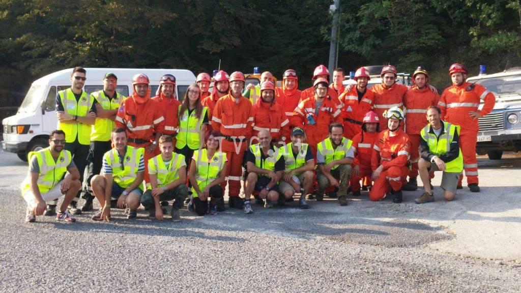 Esercitazione di protezione civile a Toirano