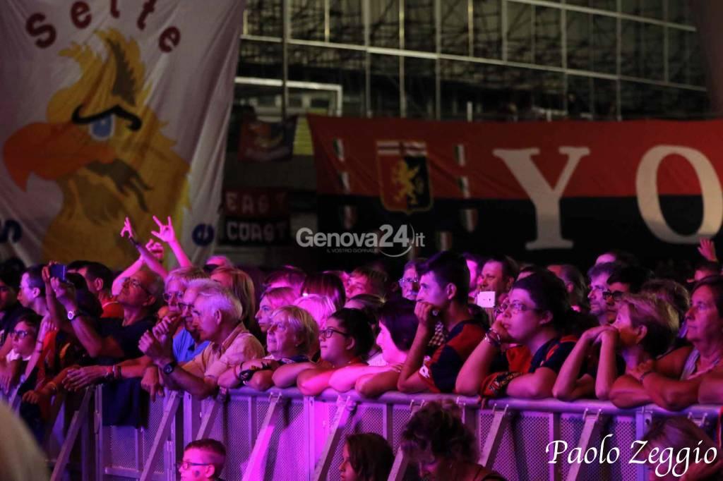 Festa per i 123 anni del Genoa - Genova Fiera Del Mare