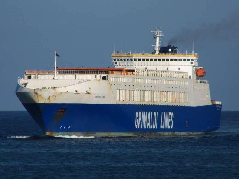 grimaldi nave eurocargo salerno