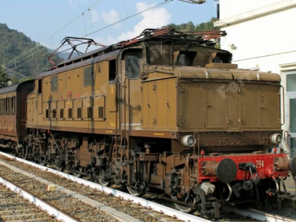 il mastodonte treno storico