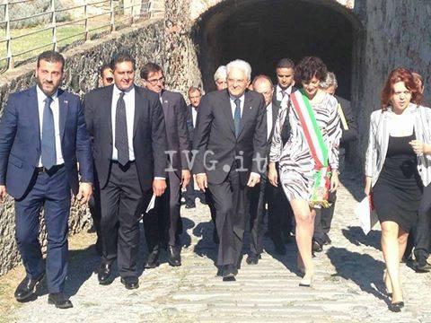 La visita del Presidente Sergio Mattarella a Savona e Stella